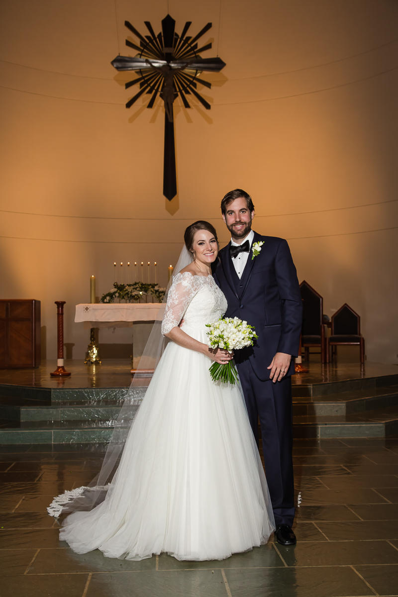 Houston Wedding Ceremony St. Cecila Catholic Church