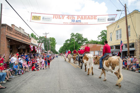 Fourth of July in Chappell Hill.  Client: Brenham Chamber of Commerce.