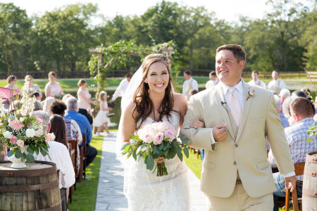 Peach Creek Ranch Wedding, College Station