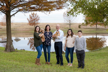 Holiday Family Portraits Brenham